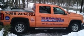 Mold and Water Damage Remediation Vehicle